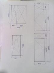 Продам металлопластиковые окна и двери на балкон фирма КВЕ (б/у)