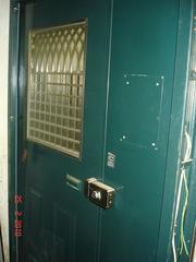 Дверь бронированая для парадной