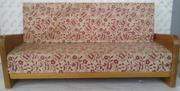 Игрушечный кукольный деревянный диван,  СССР
