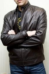 Распродажа кожаных мужских курток,  Италия!