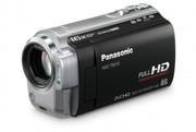 Panasonic HDC-TM10 - FullHD-видеокамера - 8Gb - SD/SDHC