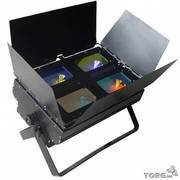 Продам заливной световой прибор 4 color