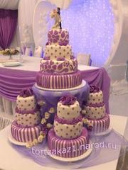 Свадебные торты на заказ Одесса