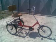 Трёхколёсный грузовой велосипед велорикша