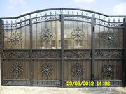 изготовим ворота,  решетки,  заборы,  лестницы,  перила,  козырьки