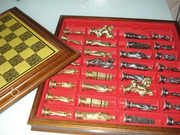 Продам металлические шахматы,  made in italy.новые