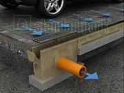 Водоотводные лотки,  дренажные системы,  каналы
