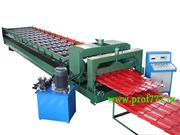Автоматическое оборудование для производства профнастила С18 из Китая