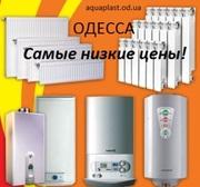 Котлы,  радиаторы и все для отопления
