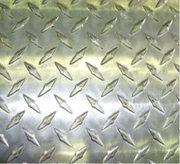 Лист алюминиевый рифленый 2