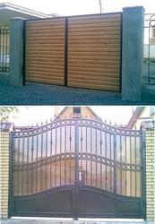 Ворота откатные, распашные, секционные