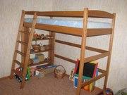 Детская двухъярусная кровать Чердак
