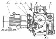 Привод передвижения башенного крана ПК-6, 3  предназначен для комплекта
