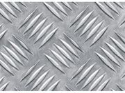 Рифленые алюминиевые листы.