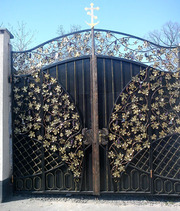 Доступные кованные ворота и ограждения.