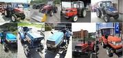 Трактор и Минитрактор из Японии и Запчасти к ним по Супер Цене с ГАРАН