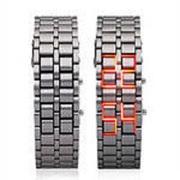 Эксклюзивные наручные LED часы-браслет Iron Samurai: