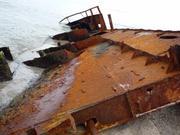 Продам часть судна на металолом