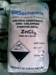 Цинк хлористый технический (хлорид цинка) ZnCl2