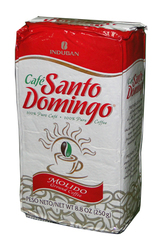 Доминиканский кофе молотый Santo Domingo (Санто Доминго) в вакуумной упаковке,  250 г