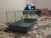 срочно! Продам клетку для кролика/морских свинок. 80x40.