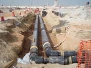 Водопровод,  канализация,  газопровод