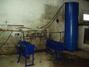 Оборудование для производства термоблоков б/у . 200 кг/час пара .