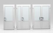 Металлопластиковые и алюминиевые межкомнатные двери ПВХ под заказ