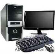 Компьютер на базе двухъядерного процессора для офисов,   компьютерных к