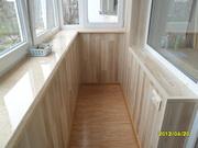Остекление балконов,  ремонт лоджий