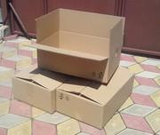 Коробки из гофрокартона размером (59х39х20)см.