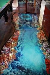 Эксклюзивные наливные 3D полы в Одессе