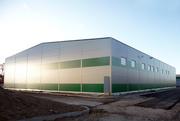 Строительство складских помещений,  складов под ключ,  Украина.