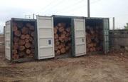 Услуги по перетарке лесоматериалов в контейнера на экспорт