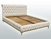 Кровать 2-х спальная на ламелях