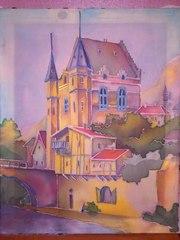замок из средневековья