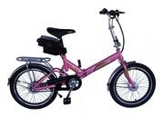 Электровелосипед складной Вольта Квант супер мини