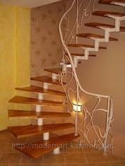 Изготовление лестниц металлических различных конструкций
