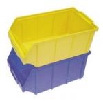 ящики пластиковые, стеллажи складские
