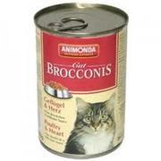 Броконис для кошек птица-сердце,  400г