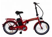 Электровелосипед Вольта Ион,  складной,  легкий