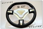Руль спортивный 537 хром