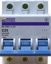 Автоматические выключатели АСКО в Одессе.