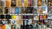 Тиражирование cd - dvd дисков,  печать на диске