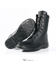Ботинки с высокими берцами мод. S 099 O1 , кожа,