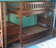 Кровати двухъярусные деревянные София Арина Ева Максим