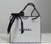 Брендовые бумажные подарочные пакеты Шанель Chanel / промокод 245fg ht