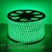 Светодиодный дюралайт  SMD3528 квадратный зеленый