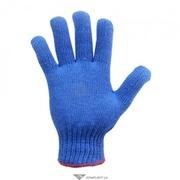 Перчатки трикотажные синие арт.760