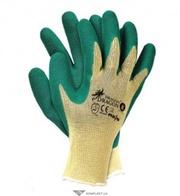 Перчатки трикотажные ИЗУМРУД с двойным латексным покрытием,  RDR,  зелен